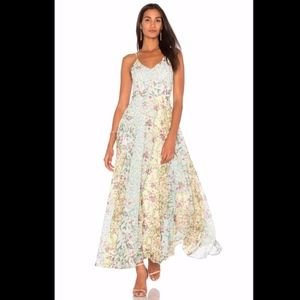 Anthopologie Yumi Kim Floral Peace and Love Maxi